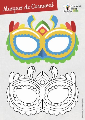 masques carnaval_savoirs plus